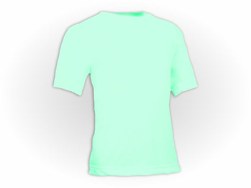 Camiseta verde bebe perfil
