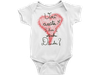 Body Bebê Infantil Você Aceita Ser Minha Dinda capa