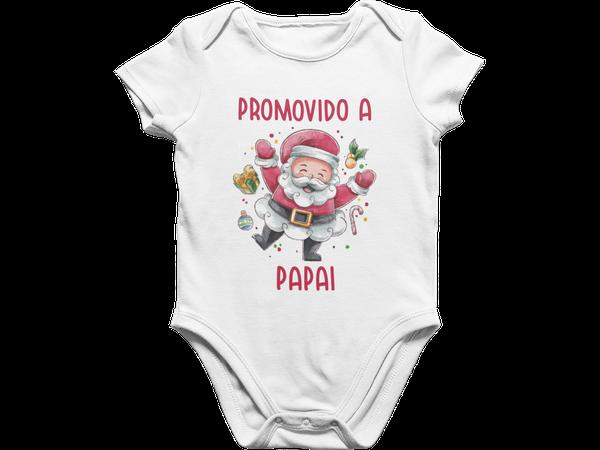 Body Bebê Surpresa de Natal Promovido a Papai Presente