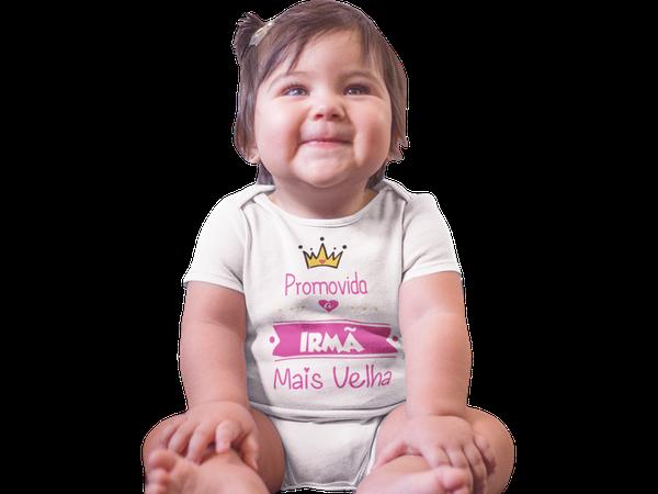 Body do Bebê Promovida a Irmã Mais Velha