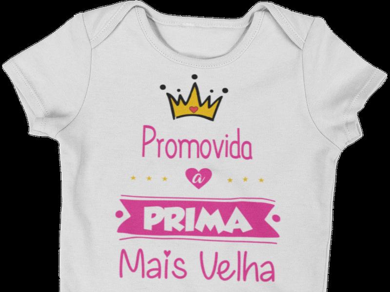 Body do Bebê Promovido a Prima Mais Velha