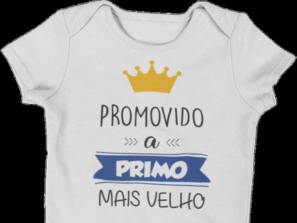 Body do Bebê Promovido a Primo Mais Velho