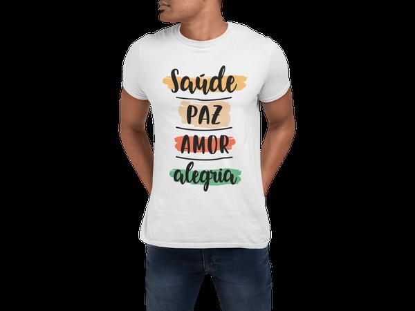 Camiseta Adulto Feliz Ano Novo Réveillon Frases