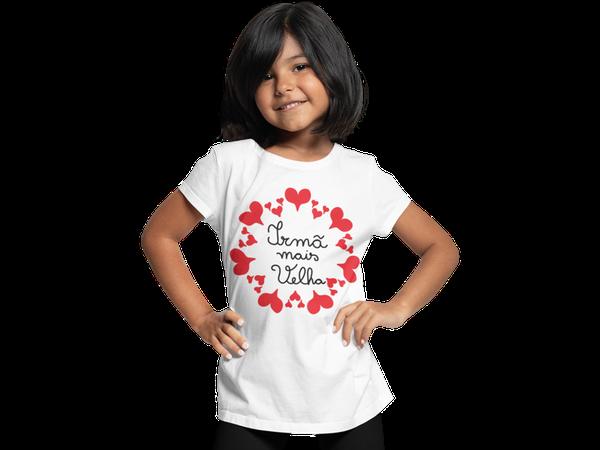 Camiseta Infantil Promovida Irmã Mais Velha