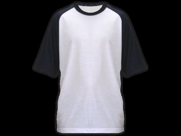 Camiseta Raglan Adulto Manga Curta
