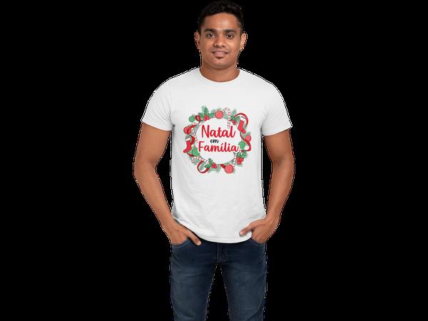 Camiseta Natal em Família Conjunto de Natal