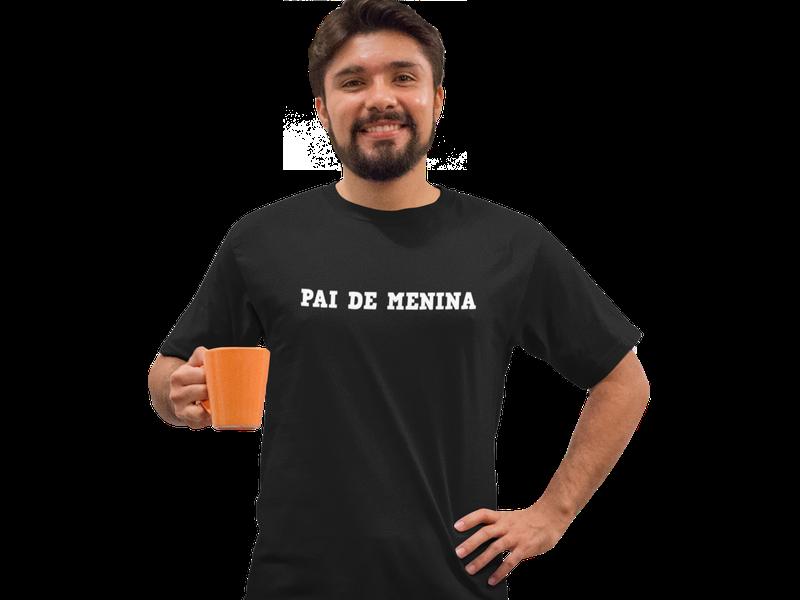 Camiseta Pai de Menina