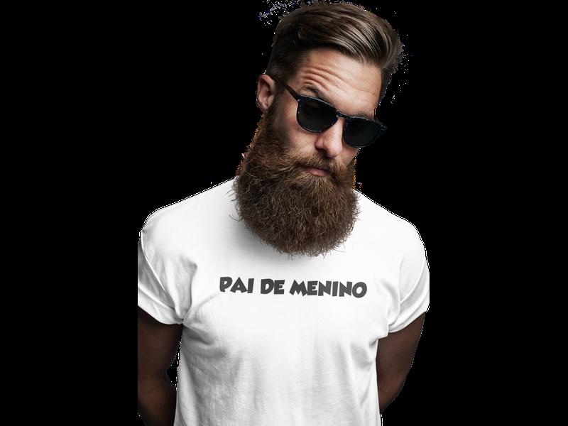Camiseta Pai de Menino