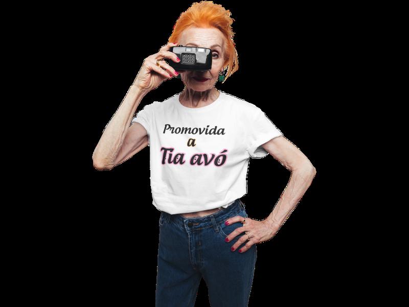 Camiseta Promovida a Tia Avó