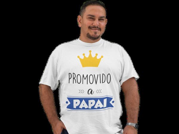Camiseta Promovido a Papai