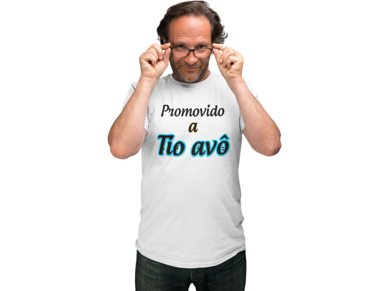 Camiseta Promovido a Tio Avô