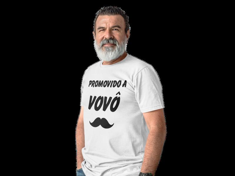 Camiseta Promovido a Vovô