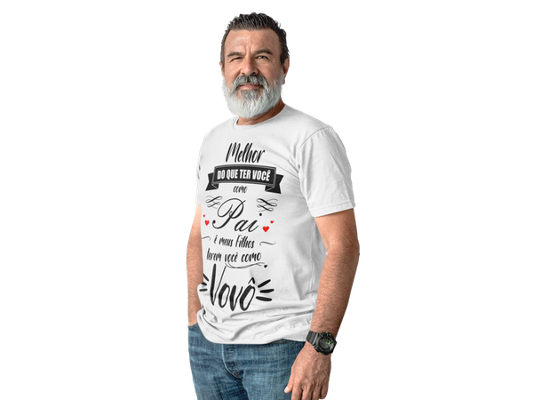 Camiseta Vovô Dia Dos Pais Frase Avô Nomes Presente