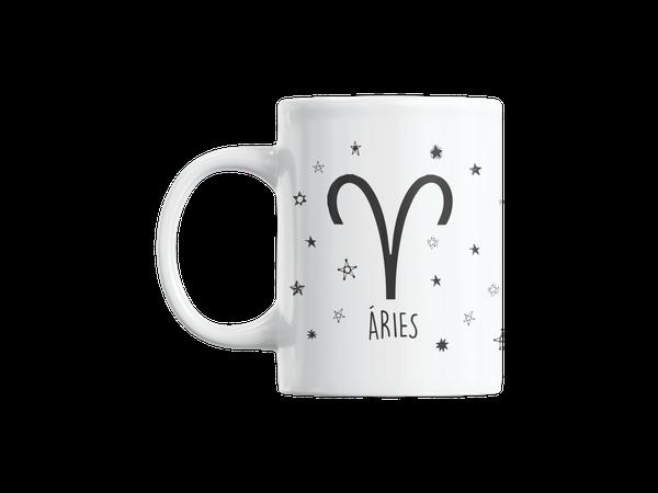 Caneca Café Personalizada Signo Aries