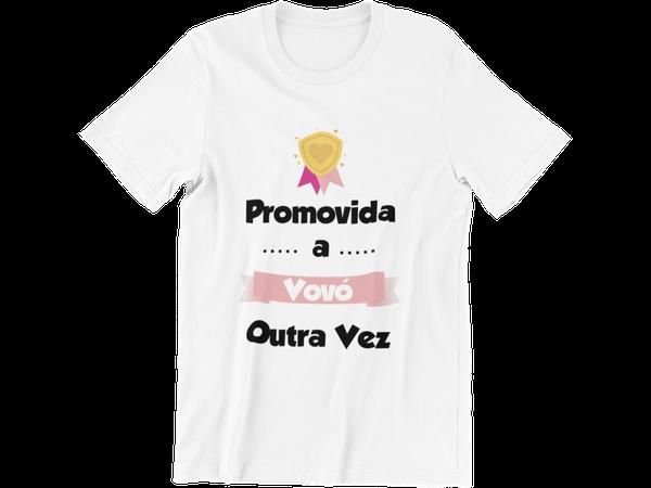 Camiseta Promovida a Vovó Chá Revelação