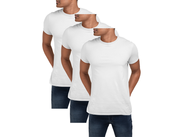 Kit 3 Camiseta Para Sublimação Camisa Malha Blusa Atacado