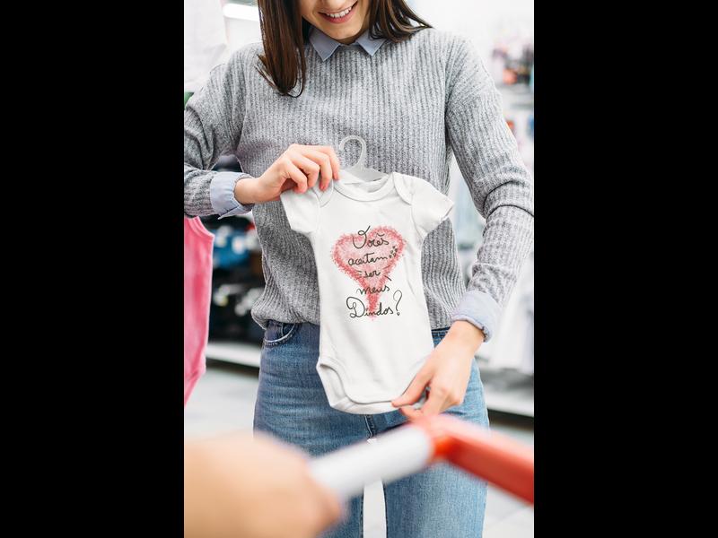 Body Bebê Infantil Vocês Aceitam Ser Meus Dindos 1