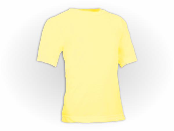 Camiseta Lisa Colorida Manga Curta Infantil Pol.