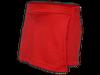Short saia vermelho perfil