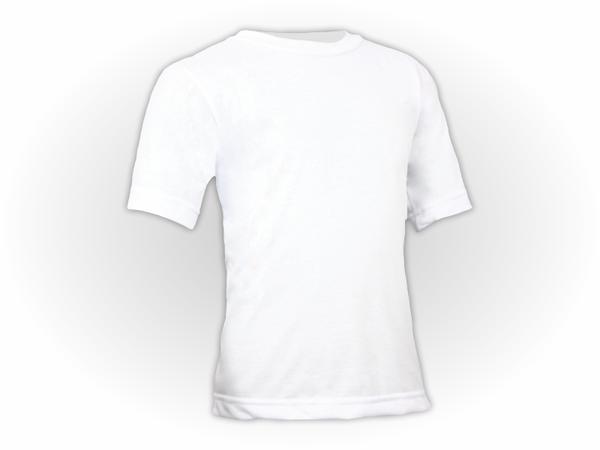 Camiseta Lisa Manga Curta Infantil Poliéster