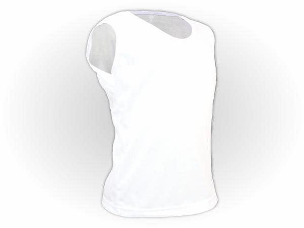 Camiseta Lisa Regata juvenil 100% Poliéster