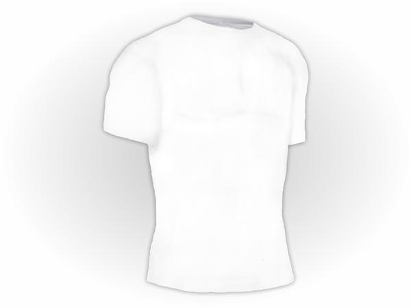 Camiseta Lisa Manga Curta Plus Size Poliéster
